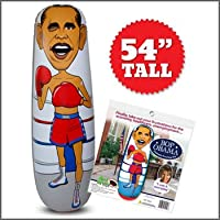 Bop Obama Inflatable Punching Bag Doll