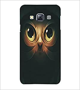 PrintDhaba Owl Man D-5365 Back Case Cover for SAMSUNG GALAXY A3 (Multi-Coloured)