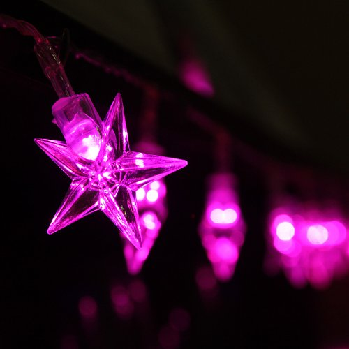 Pink Led Christmas Lights