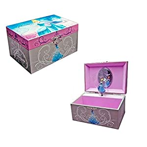 Cinderella Musical Jewellery Box
