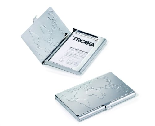 Troika Business World Business Card Case (CDC75CH) troika muse