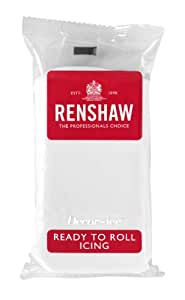 Renshaw Ready to Roll Icing White, 1 kg
