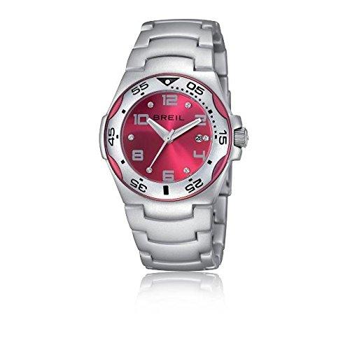 Authentic Breil Ice Alu Lady Watch - Fuchsia TW0865