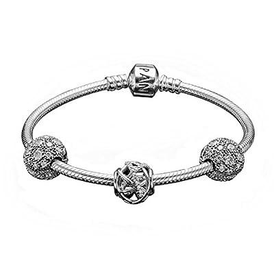 "Pandora USB792619 Stargazer Bracelet Gift Set 7.5"", Limited Edition"