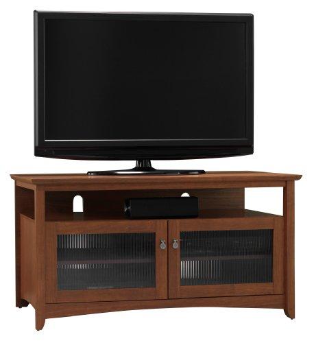 Bush Furniture My|Space Collection Buena Vista TV Stand, Serene Cherry