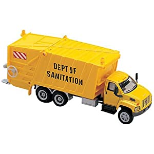 Amazon.com: HO Scale GMC Garbage Truck Yellow 3016-88 ...