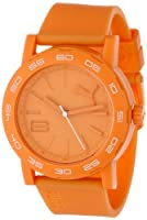 PUMA Women's PU103202003 Move Silicone Analog Watch, Orange from PUMA