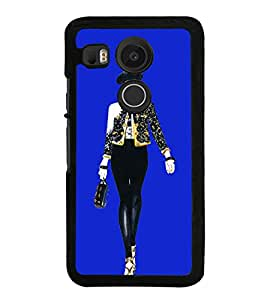 Girl on Ramp 2D Hard Polycarbonate Designer Back Case Cover for LG Nexus 5X :: LG Google Nexus 5X New
