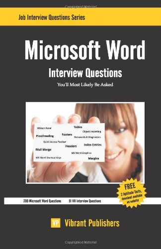 Microsoft Word Interview Questions You'll Most Likely Be Asked
