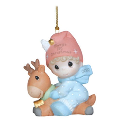 Precious Moments Baby's First Christmas 2012, Boy Figurine