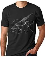 Acoustic Guitar T-shirt Cool Musician Tee