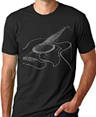 Acoustic Guitar T-shirt Cool Musician…