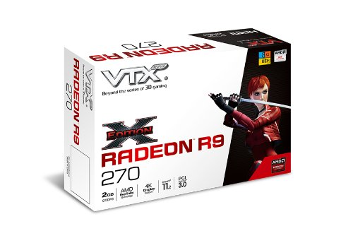 VTX3D AMD Radeon R9 270 X-Edition 2GB GDDR5 Graphics Card
