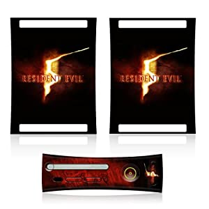 Mad Catz Resident Evil 5 Console Faceplate and Skin (Xbox 360)