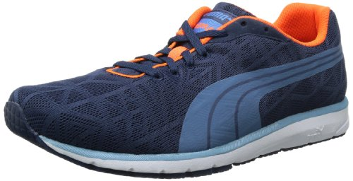 Puma Mens Narita v2 Running Shoes Blue Blau (insignia blue-metallic blue 01) Size: 42