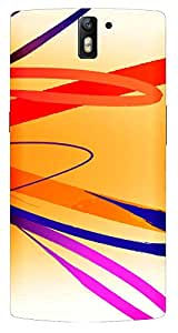TrilMil Printed Designer Mobile Case Back Cover For Oneplus One 1+1