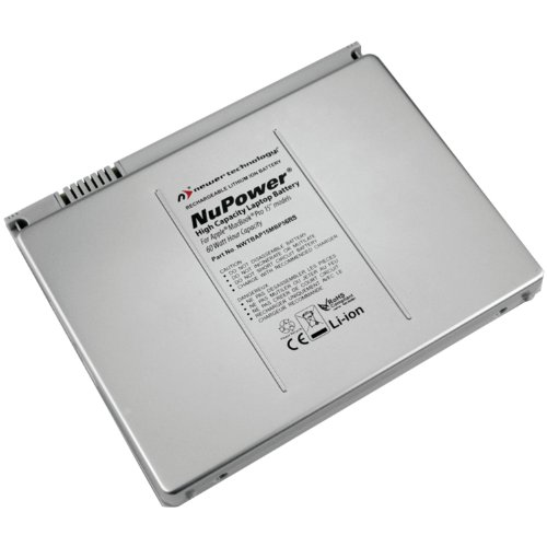 Newer Tech Nwtbap15mbp56rs Non-Unibody Replacement Battery for 15-Inch MacBook Pro (NWTBAP15MBP56RS) (Nupower Macbook Pro Battery compare prices)