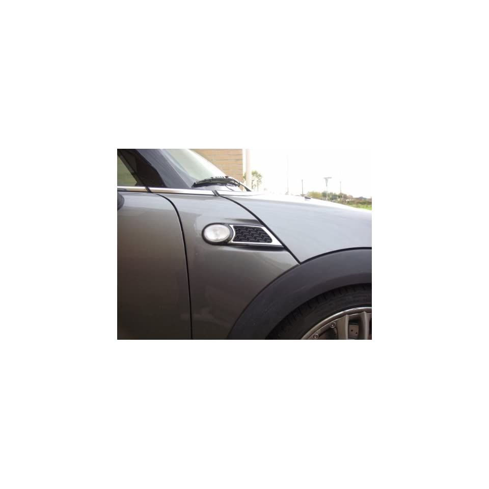 MINI Cooper Hardtop 51 13 0 414 458 John Cooper Works Side Scuttle Insert (Set of Two, Left/Right)   Grille Design