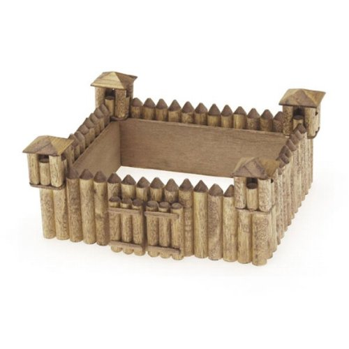 Unfinished Fort Wood Craft Kit (Unfinished When Fully Assembled)