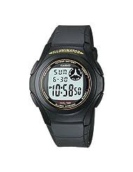 Casio Digital Multi Dial Men Watch - (F-200W-9AUDF)