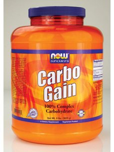 Now Foods Sports Carbo Gain -- 8 Lbs