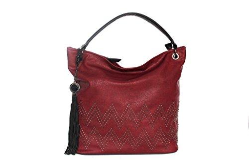 Borsa donna Lookat sacca a spalla j9148 rosso