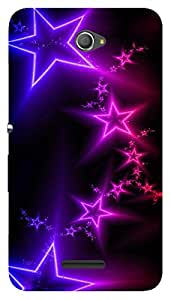 WOW Printed Designer Mobile Case Back Cover For Sony Xperia E4