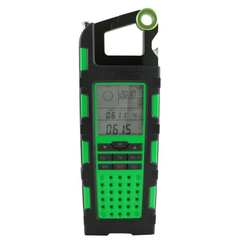 Eton Unisex Raptor Solar Charger With Am/Fm/Sw
