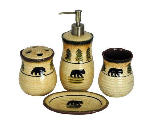 HiEnd Accents Bear Bathroom Set