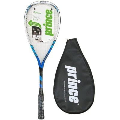 PRINCE TF VELOCITY G0 Strung Squash Racquet (Blue, Weight - 180 g)