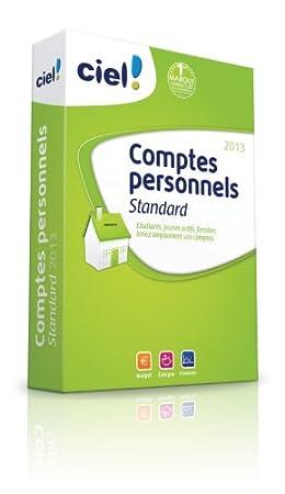 Ciel Comptes Personnels Standard 2013