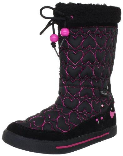 Skechers Girls' Streetsmarts Exclusives,Black/Pink,US 12 M