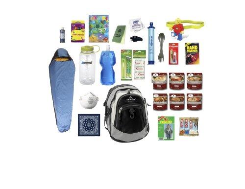 Child Emergency Kit Bag / Bug Out Bag / Survival Kit / Earthquake Kit