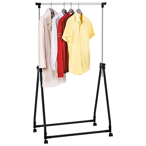 Tatkraft Halland Portant Pour Vêtements Pliable Acier Chrome 89X49X99-167 cm