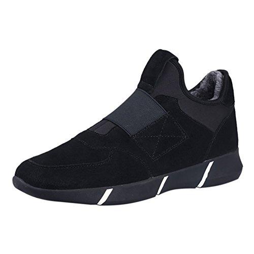 Scarpe da Ginnastica Basse Sportive Outdoor Tennis Running Sneakers Nero Vello 44