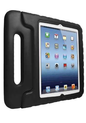 iFrogz Tumble Case for iPad 2/3/4, Black (IPD3-TBLBK)