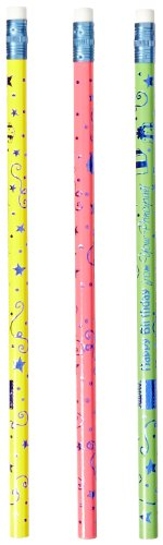 Moon Products Happy Birthday from Your Principal Pencils - Pack of 12