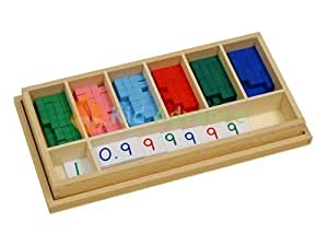 Kid Advance Co. Kid Advance Montessori Decimal Fraction Exercise