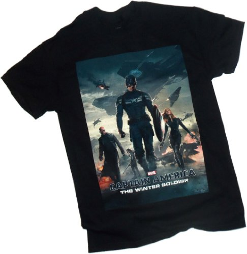 Theater Poster -- Captain America: The Winter Soldier Movie T-Shirt