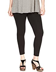Plus Cotton Rich Stretch Leggings