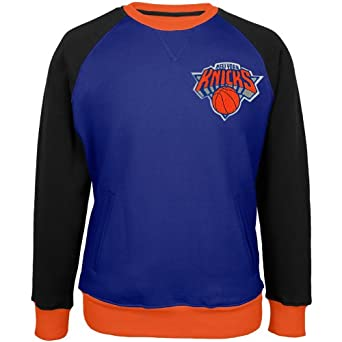 New York Knicks - Creewz Plus Size Crew Neck Sweatshirt by New York Knicks