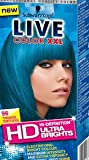 SCHWARZKOPF LIVE COLOR XXL SEMI-PERMANENT ULTRA BRIGHTS HAIR COLOR 96-TURQUOISE TEMPTATION