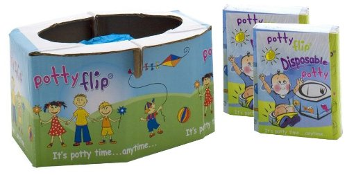 Potty Flip Disposable Potty - 3 ct - 1