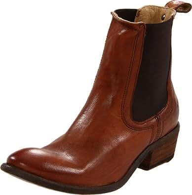 .com: FRYE Women's Carson Chelsea Ankle Boot,Cognac,10 M US: Shoes