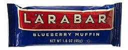 LaraBar Blueberry Muffin Bar, 1.6 Ounce -- 16 per case.