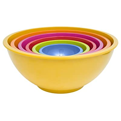 Colorways Mixing Bowls (Set of 6) - Rainbow