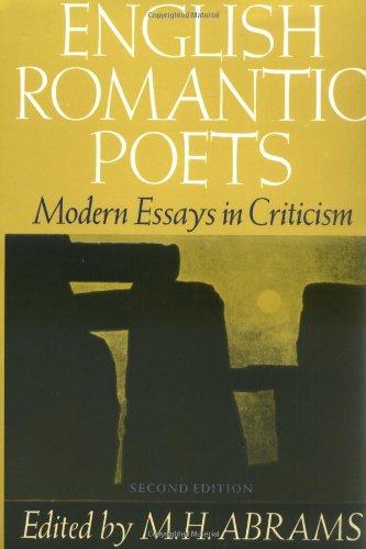 romantic poetry essays
