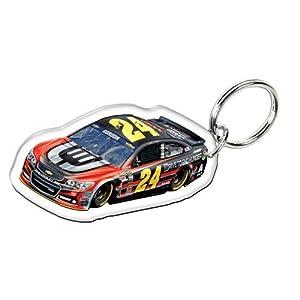 Jeff Gordon #24 Nascar Sprint Series Premium Acrylic Key Ring (with mirrored back) by WinCraft