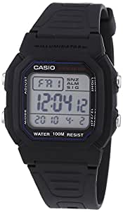 Casio Collection Unisex-Armbanduhr Digital Quarz W-800H-1AVES