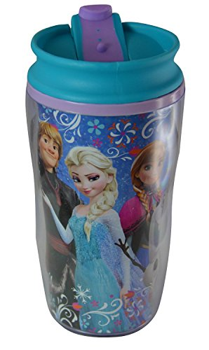 Disney Frozen 9.5 Ounce Kids Travel Tumbler (Disney Frozen Drinking Cups compare prices)